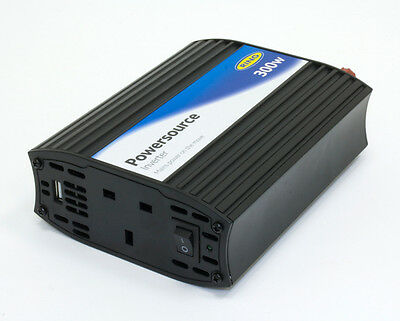 Ring PowerSource RINVU300 - 12V - 240V 300W Inverter with USB
