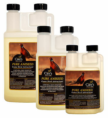 Carr's | Pure Aniseed Oil Natural Bait Attractant For Game Birds
