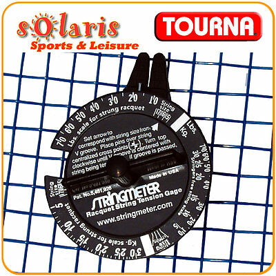 TOURNA STRINGMETER Tennis Racquet String Tension Measuring Device Made in USA