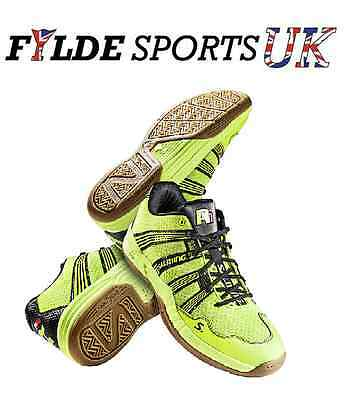 Salming Race R1 2.0 - Yellow squash Indoor court mens shoes trainers - CLEARANCE