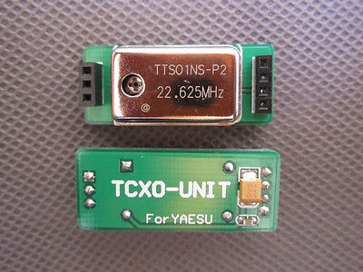Compensated crystal components FOR FT-817/857/897