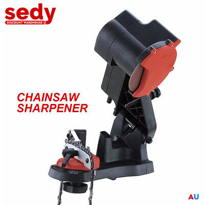NEW Electric Chainsaw Sharpener Chain Saw Bench Mount File Grinder Tools Power