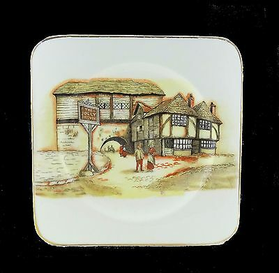 VINTAGE 1940's Lancaster & Sandland English Ware - The Jolly Drover - plate 19cm