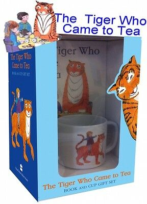 The Tiger Who Came to Tea Book & Tea Cup Box Gift Set