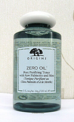 Origins Zero Oil Pure Purifying Toner With Saw Palmetto & Mint 150ml -FULL SIZE