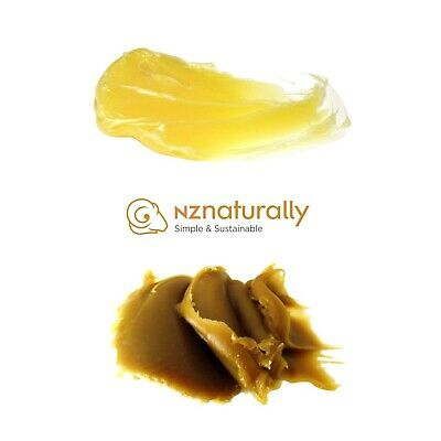 PURE LANOLIN - New Zealand (100%, anhydrous, adeps lanae, wool wax, wool grease)