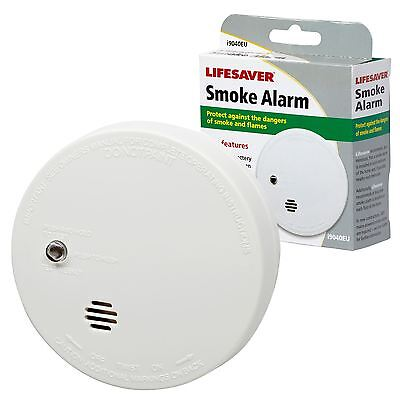 KIDDE LIFESAVER Smoke Detector Fire Alarm Ionisation Batteries Included