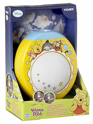 Winnie the Pooh Lullaby Dreams Lightshow Cot Mobile Crib Music Projector T71862