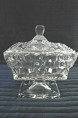 AMERICAN FOSTORIA Wedding Bowl with Lid