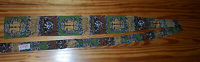 Vintage Rooster Sun Fabrics 100% Cotton Square End Lawyer Tie