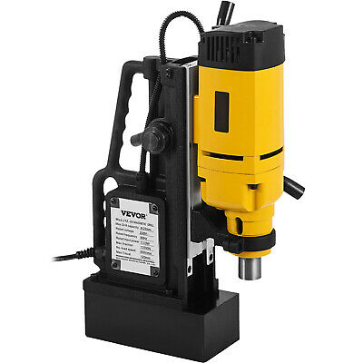 NEW 240v Commercial Magnetic Drill Electric Electro-Mag Base Chuck Power