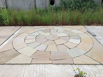 concrete pavers circle kits