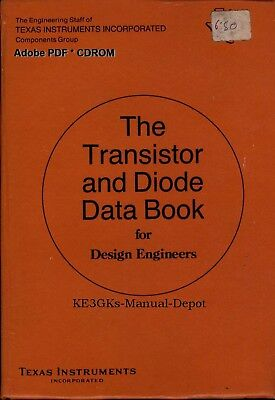 Texas Instruments Transistor and Diode Data Book * CDROM * PDF * KE3GK