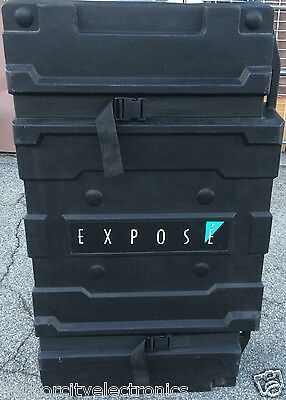 ROLLING TRAVEL CASE EXPOSE HEAVY DUTY 28X48X13.5 ON WHEELS 9 inch DEEP