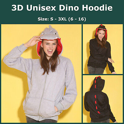 Unisex New Fashion Casual Designed Dinosaurs Hoodies Jackets Coats Tops Sweater