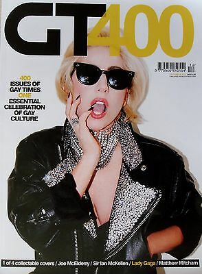 GAY TIMES * 400TH ISSUE w/ LADY GAGA COLLECTABLE COVER * DEC 2011 * GAY INTEREST