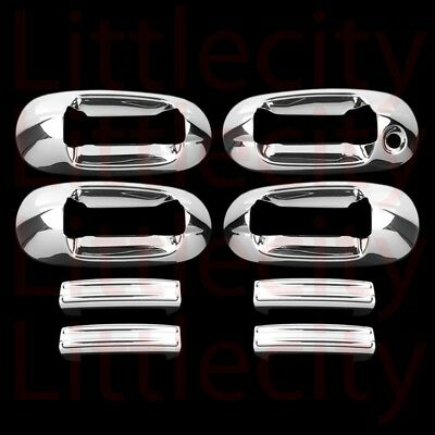 Auto Parts & Accessories FOR 07-10 FORD EDGE 06-12 FUSION 05-14 MUSTANG CHROME DOOR HANDLE COVER COVERS