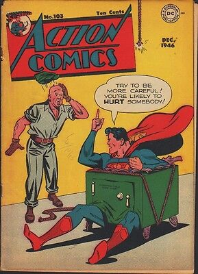 ACTION COMICS #103 w Superman 1946
