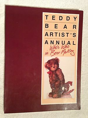 Teddy Bear Artist's Annual - Who's Who in Bear Making Book Volpp Great Reference