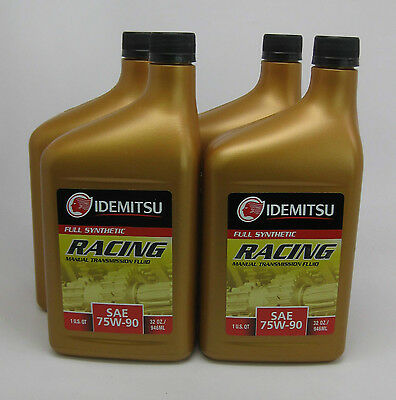 Idemitsu 75W-90 Gear Oil - Box of 4 Quarts - Synthetic