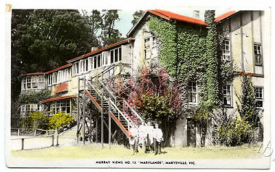 C.1940'S RP NPU MURRAY VIEWS NUMBER 13 POSTCARD MARYLANDS  MARYSVILLE VICT u83.