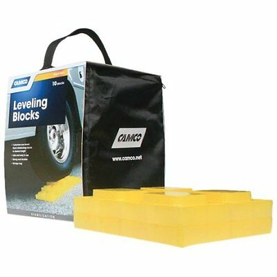 Camco 44505 Leveling Blocks - 10 pack, Free Shipping, New