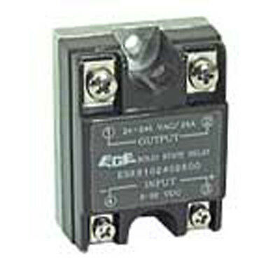 ECE ESR5102402500Z 3-32 VDC Solid State Relay Module 240 VAC Contact 4-Pin