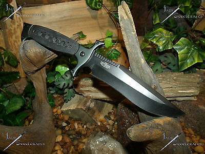 Hunting/Camping/Bowie/Survival/Knife/Tom anderson/Full tang/440SS/Micarta grip