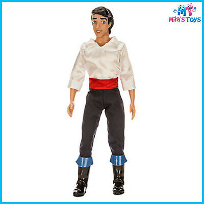 """Disney The Little Mermaid's Prince Eric Classic 12"""" Doll Toy brand new in box"""