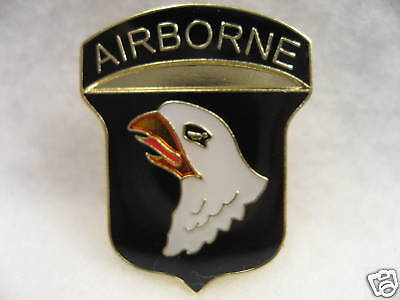 U.S  ARMY Airborne 101st division  Vintage  Lapel pin New!!