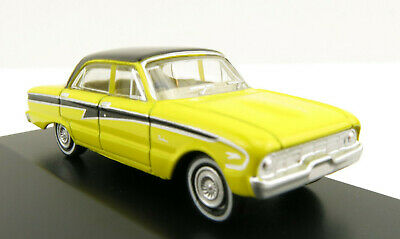 Road Ragers - Australian 1960 Ford Falcon XK Sedan - Pacific Blue  H0 Scale 1:87