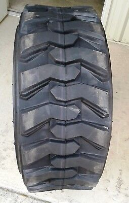 1 NEW-10-16.5 Skid Steer Tire-10x16.5, 10 Ply-CAT/CASE/JDEERE/BOBCAT/MUSTANG