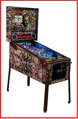 Stern The Walking Dead  Limited Edition LE Pinball Machine  Free Shipping New