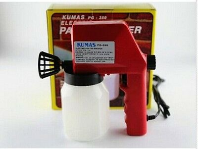 NEW 220v 600ml Electric Airless Air Less Paint Gun Sprayer House Fence Painting