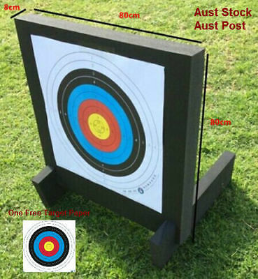 Archery Target Xpe High Density Foam 60*60*8Cm For Compound Recurve Bows