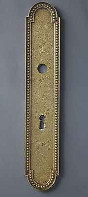 1 x Solid Brass Finger Door Plate Antique • CAD $48.38