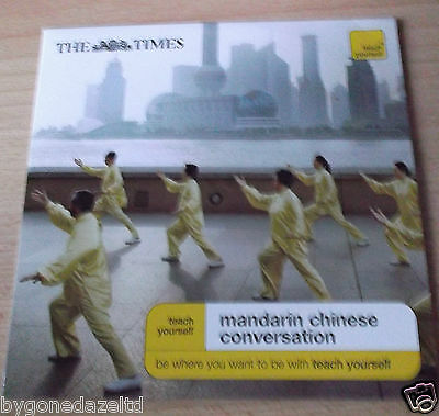 Teach Yourself Mandarin Chinese Conversation The Times Promo(Free Uk Post)