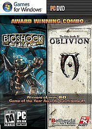 BioShock/The Elder Scrolls IV: Oblivion  (PC, 2009) Factory Sealed