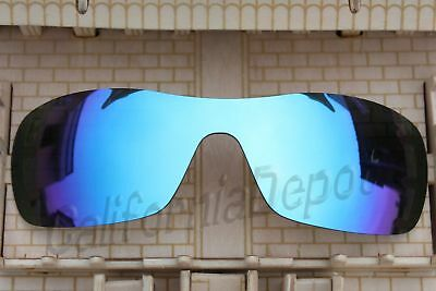 134cecef06 ACOMPATIBLE Polarized Lenses Replacement for-Oakley Antix Sunglass Blue  Mirror