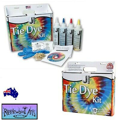 Jacquard TIE DYE KIT - 100% Cotton, Linen, Rayon & Hemp - will dye 15 shirts