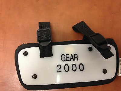 GEAR 2000 Youth Back Plates
