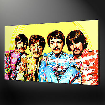 THE BEATLES CANVAS Print Picture Wall Art Variety Of Sizes Available