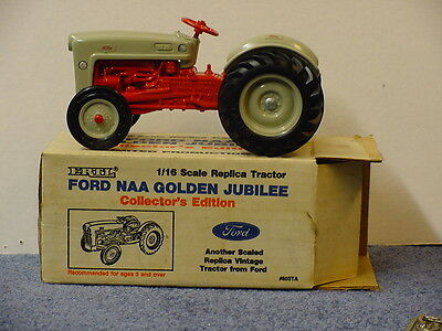 FORD NAA GOLDEN JUBILEE TRACTOR, 1/16, DIECAST, COLLECTOR'S EDITION, VINTAGE