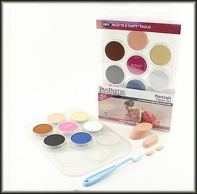 PanPastel - Ultra Soft Artists Pastels - Portrait Starter Set
