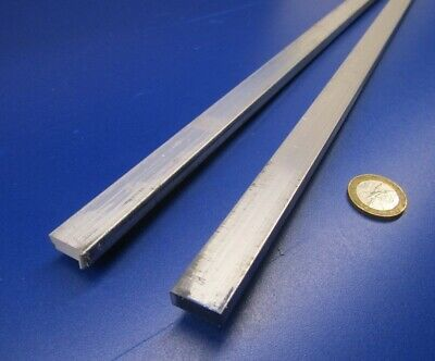 "6061 T651 Aluminum Bar, 1/4"" (.250"") Thick x 5/8"" Wide x 36"" Length, 2 pcs"
