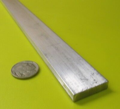 "6061 T651 Aluminum Bar, 1/4"" (.250"") Thick x 1.0"" Wide x 36"" Length, 2 pcs"
