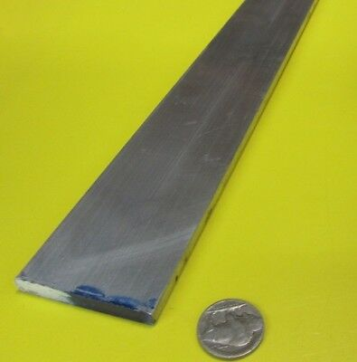 "6061 T651 Aluminum Bar, 1/4"" (.250"") Thick x 2.0"" Wide x 36"" Length, 1 pcs"