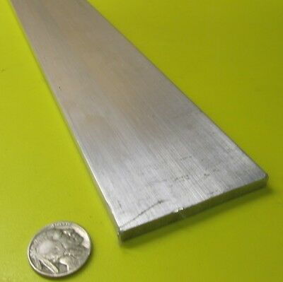 "6061 T651 Aluminum Bar, 1/4"" (.250"") Thick x 2 1/2"" Wide x 36"" Length, 1 pcs"