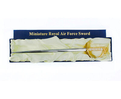 Miniature Royal Air Force Ceremonial RAF Sword 1:3 Scale Letter Opener
