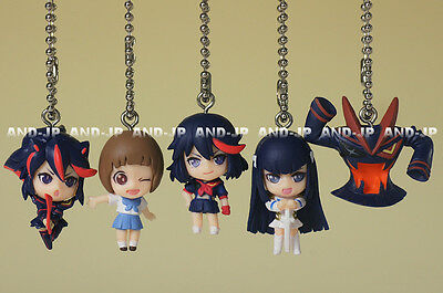 KILL La KILL Swing Key chain Strap Mini Figure Complete! (set of 5) Gashapon
